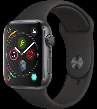 3c135a109b7 Apple Watch Series 4 GPS Alumínio 44mm com Bracelete desportiva – Smartwatch  – Loja Online